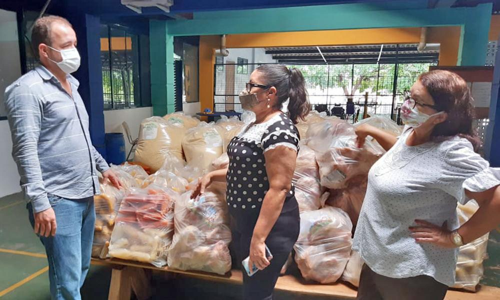 Em todas as regiões do Estado, 267 entidades receberam as doações de mais de 446 toneladas de alimentos - Ruraltins/Governo do Tocantins
