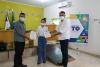 Presidente do Naturatins Renato Jayme e Secretário de Agricultura, Pecuária e Aquicultura (Seagro), Jaime Café entregam certificados de revisão de outorga