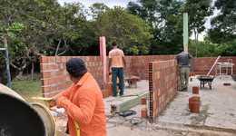 Foto 1 Tem início a construção da nova sede da Área de Proteção Serra do Lajeado_260x150.jpg
