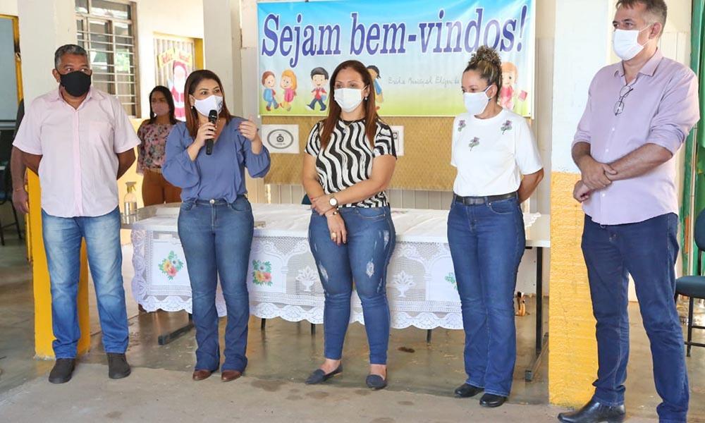 O projeto também contemplará iniciativas que já estejam em desenvolvimento nas unidades de ensino - Juliana Carneiro/Governo do Tocantins