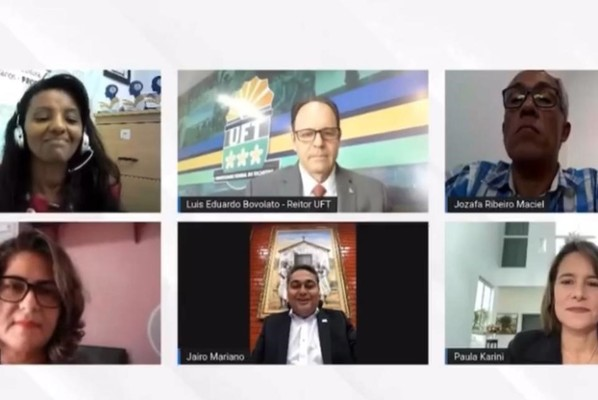 Com a presença de Jairo Mariano, Seminário da UFT foi transmitido ao vivo