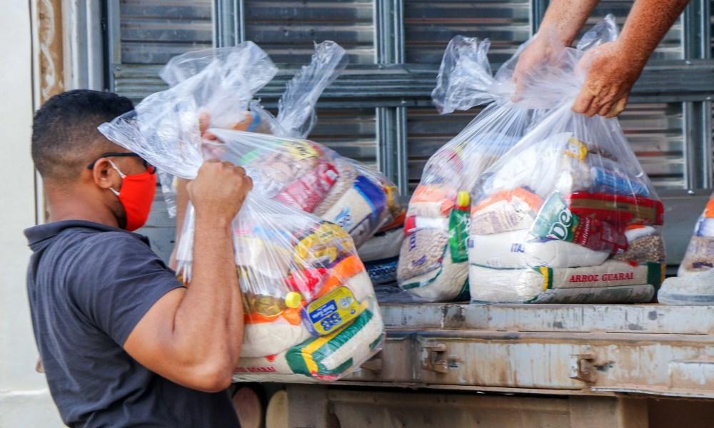 Somente nos primeiros três meses de 2021 já foram atendidas mais de 60 mil famílias. - Carlessandro Souza/Governo do Tocantins