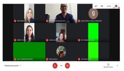 Roda de Leitura online com gestores do Sistema Socioeducativo de todo o Estado