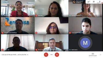 Encontro virtual contou com a participação de representantes dos estados do Pará e do Mato Grosso