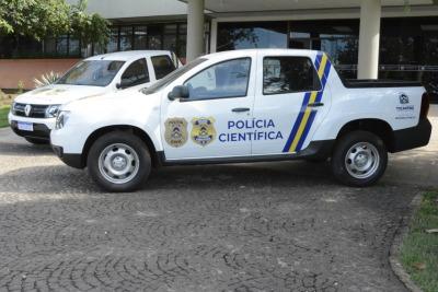A Superintendência da Polícia Científica passa a adotar, de modo oficial, o brasão utilizado nacionalmente pelas unidades de Polícia Científica