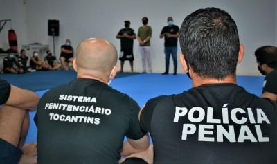 O Curso teve aulas teóricas e práticas sobre o cotidiano do Policial Penal