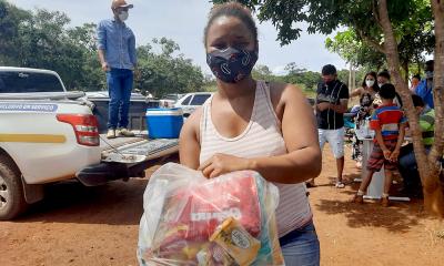 Foto 2 - Mãe de duas crianças, Letícia da Conceição Ferreira conta que ouviu pela rádio sobre a ação na sua comunidade (Governo do Tocantins)_400.jpg