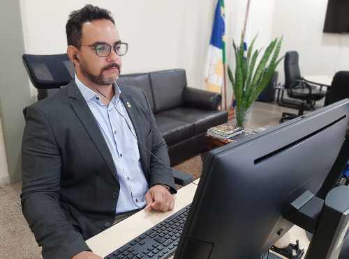 Secretário, Bruno Barreto, destacou o importante passo da parceria com as Universidades.