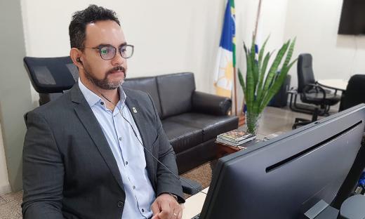 Secretário Bruno Barreto destacou a parceria com as Universidades para viabilidade do projeto