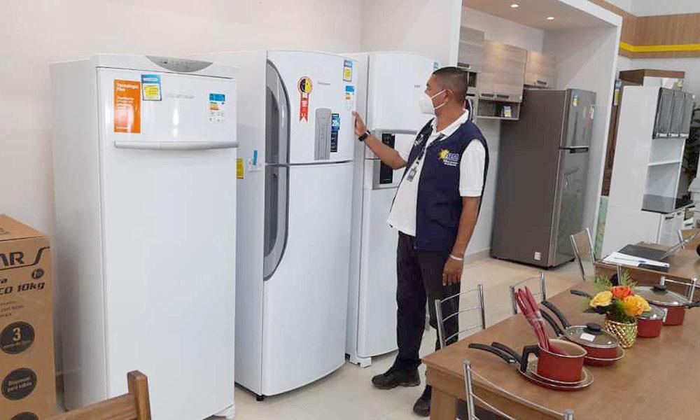 Produtos eletrodomésticos devem apresentar aEtiqueta Nacional de Conservação de Energia - Cejane Borges/Governo do Tocantins