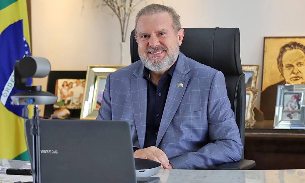 Governador Carlesse ressalta a necessidade de auxiliar os produtores nesse momento de pandemia - Esequias Araújo/Governo do Tocantins