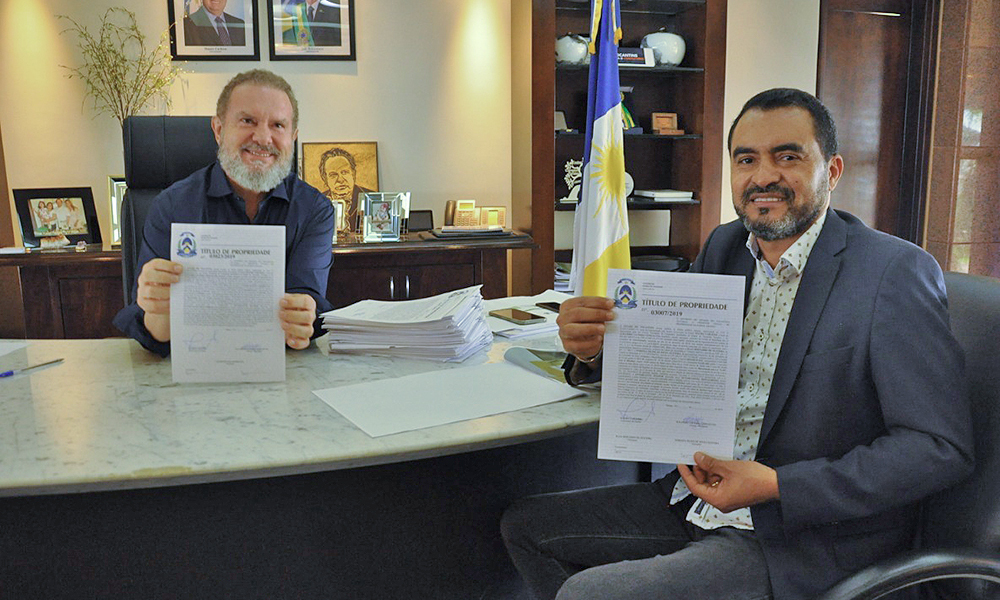 Apenas na gestão municipalista do governador Mauro Carlesse, mais de 4,8 mil famílias irão receber seus títulos de propriedades no Tocantins - Esequias Araújo/Governo do Tocantins
