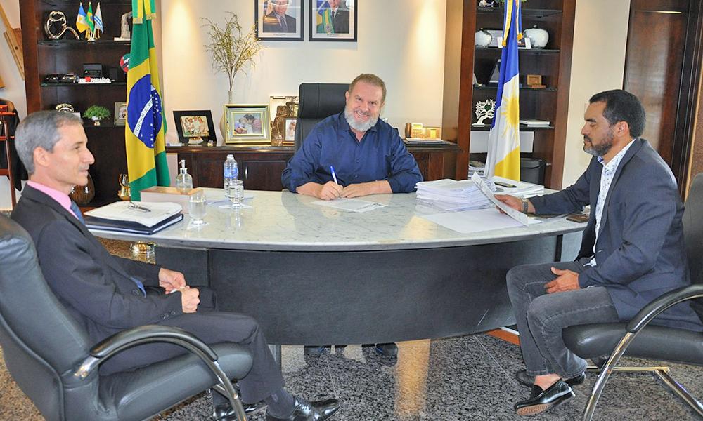 Os títulos seguirão para registro junto à Companhia Imobiliária de Participações, Investimentos e Parcerias do Tocantins e posteriormente serão entregues aos proprietários - Esequias Araújo/Governo do Tocantins