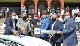 Os veículos foram adquiridos por meio do convênio firmado entre os Governos Estadual e Federal no valor de R$ 1,5 milhão