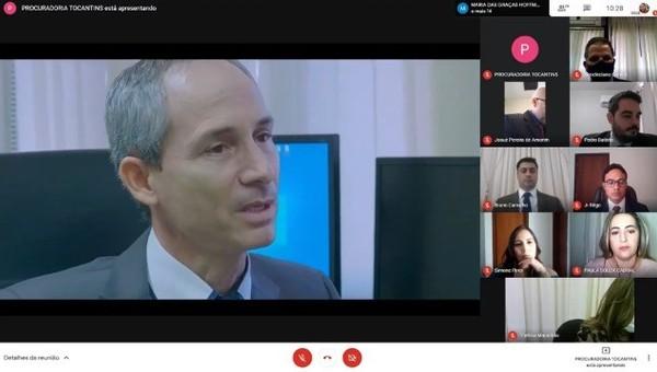 Procurador-Geral abriu a solenidade virtual
