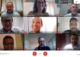Reunião virtual com conselheiros da CTPFERH