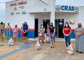 Foto 1 - O Cras do município de Carmolândia recebeu 150 kits de alimentos (Governo do Tocantins)_280x200.jpg