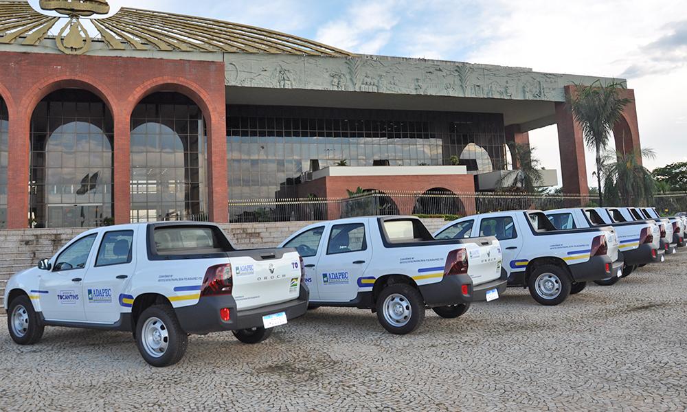 Os veículos foram adquiridos por meio do convênio firmado entre os Governos Estadual e Federal no valor de R$ 1,5 milhão - Washington Luiz/Governo do Tocantins