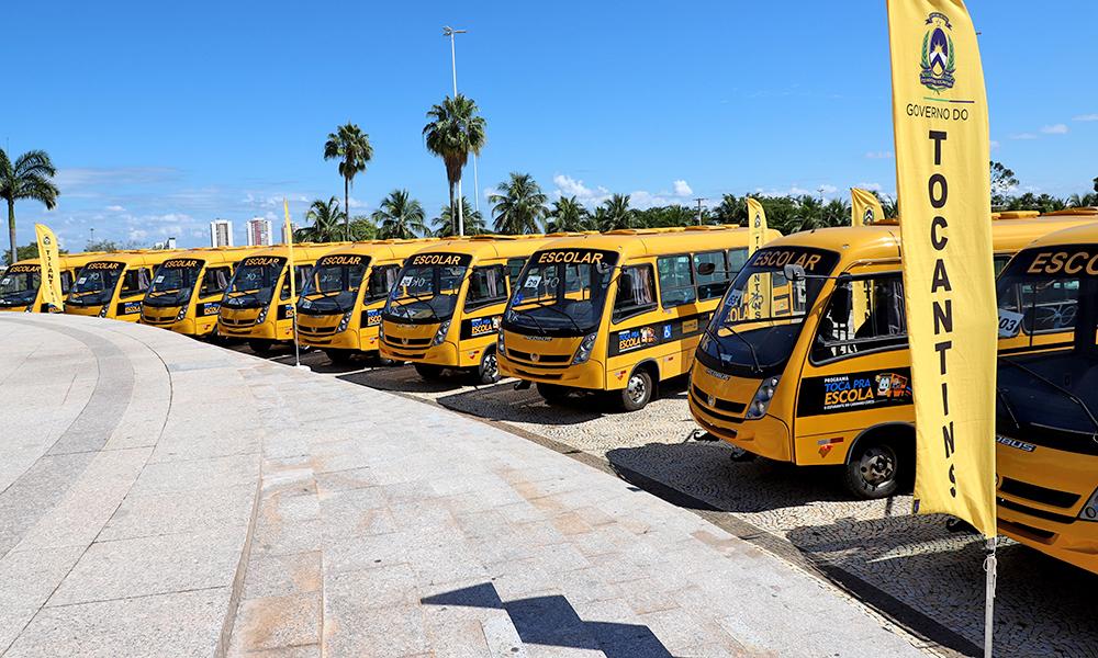 Além das Apaes, os veículos foram destinados aos 139 municípios, Diretorias Regionais de Educação, escolas agrícolas do Tocantins e Associação Gurupiense Amigos do Basquete - Esequias Araújo/Governo do Tocantins
