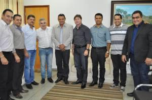 Secretário Agimiro Costa recebeu diretor das Casas Bahia  e representantes políticos de Araguaína para avaliarem abertura de loja em Araguaína