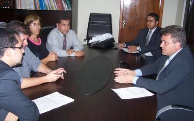 Reunião - PGE, Sesau e Simed