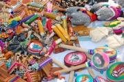O artesanato equatoriano esteve à venda na Flit