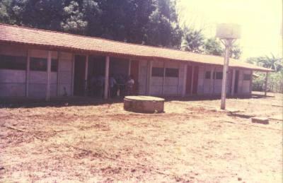 Instalações do Quartel do Comando Geral da Polícia Militar do Tocantins, em Miracema do Tocantins em 1º de janeiro de 1989.