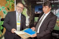 O secretário Divaldo Rezende avaliou o primeiro dia do evento e falou dessa oportunidade de contato com os gestores municipais