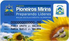 Os 1.474 pioneiros mirins de Palmas receberão os cartões magnéticos que dão acesso à bolsa auxílio do Programa nesta terça, 18.