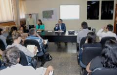 Na ocasião, Divaldo Rezende deu início à reunião fazendo a leitura da pauta a ser cumprida no âmbito da CIEA, em seguida fez a entrega dos termos de posse aos membros da Comissão da A3P e falou dos aspectos que envolvem o colegiado.