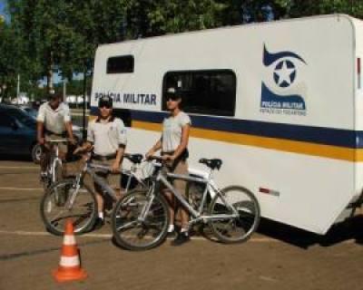 Policiamento com bicicletas