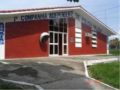 Sede da 1ª CIPM em Arraias