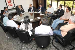 Representantes da SicoobSolicitaram apoio institucional para abertura de novos postos de atendimento cooperativo