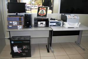 Equipamentos de informática doados pelo Banco do Brasil auxiliarão o trabalho de investigação criminal da Deic de Palmas